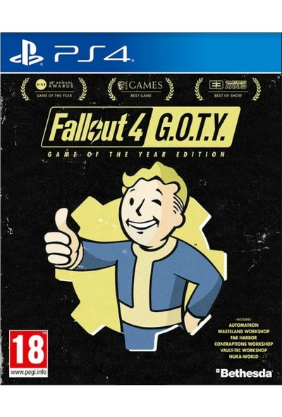 Fallout 4 Game of the Year Edition (GOTY) PS4 Oyun