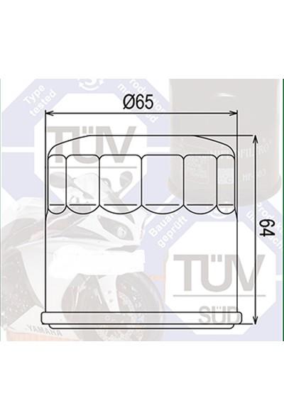 Mtx Mtx Yağ Filtresi Mf-204 Yamaha Mt-07 Honda Cb600 Cbf600 Cbr600 Fsc600 Nt700 Vt750 Vfr800, Cbr954 Nc 750 X 2014 2016
