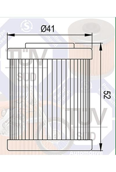 Mtx Mtx Yağ Filtresi Mf-157 Ktm Exc 250 400 450 525 Duke Enduro Supermoto 690 Polarıs Atv 450 525
