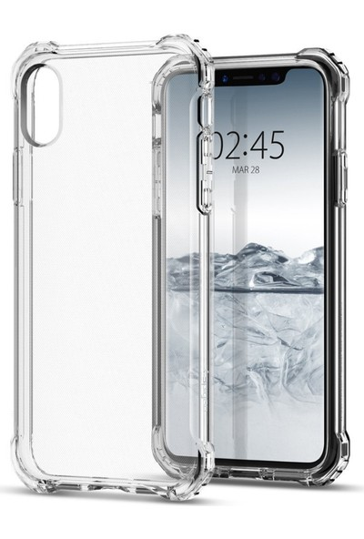 Spigen Apple iPhone X Kılıf Rugged Crystal - 057CS22117