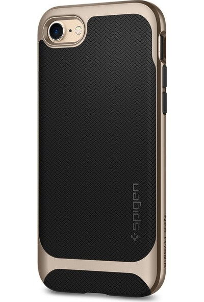 Spigen Apple iPhone 8 - iPhone 7 Kılıf Neo Hybrid Herringbone Champagne Gold - 054CS22201
