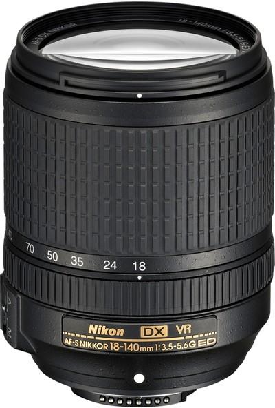 Nikon D5600 + 18-140 Lens + Hafıza Kartı + Eye Sırt Çantası