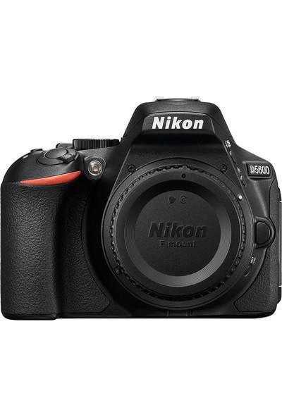 Nikon D5600 + 18-55 + 55-200 Lens + Hafıza Kartı + Çanta + Tripod
