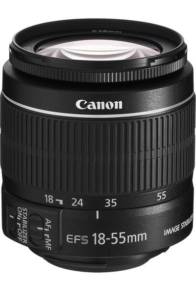 Canon EOS 800D + 18-55 Lens + Hafıza Kartı + Çanta + Tripod