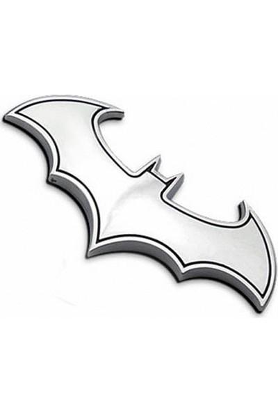 Solfera Batman Yarasa Adam Dark Knıght Metal Otomobil Stickerı Cs039