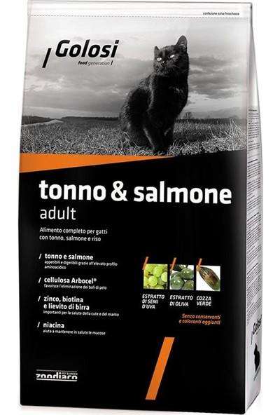 Golosi Cat Tonno-Salmone Ton Balik Ve Somonlu Yetişkin Kedi Mamasi 1.5 Kg
