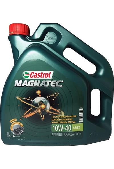 Castrol Magnatec 10W-40 A3/B4 4 Litre Motor Yağı (Benzin) (Üretim yılı : 2019)