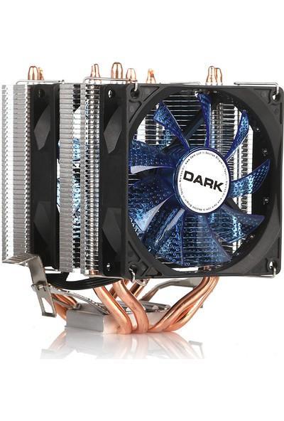 Dark Freezer X94BL Intel 775/1156/1155/1150/1151 FM1/FM2/AM2+/AM3+ /AM4 Ryzen Uyumlu işlemci Soğutucu(DKCCX94BL)