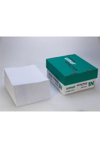 Umur Sürekli Form Kağıdı 11x24 cm 60 g 1 Nüsha 2000'li