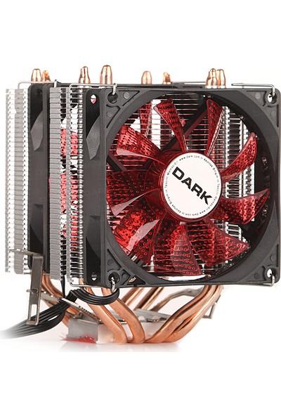 Dark Freezer X94RD Intel 775/1156/1155/1150/1151 FM1/FM2/AM2+/AM3+ /AM4 Ryzen Uyumlu işlemci Soğutucu (DKCCX94RD)