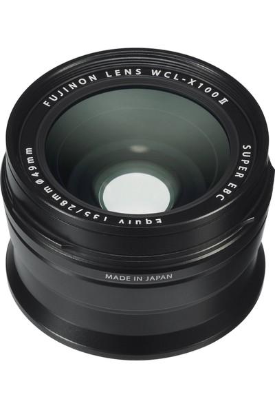 Fujifilm X100F Siyah + WCL-X100 II ( Wide Converter ) Siyah Kit