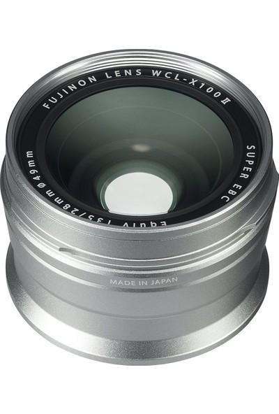 Fujifilm X100F Gümüş + WCL-X100 II ( Wide Converter ) Gümüş Kit