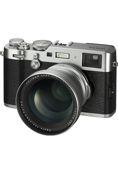 Fujifilm X100F Gümüş + TCL-X100 II ( Tele Converter ) Gümüş Kit