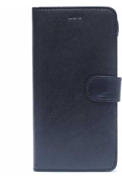 BookBook Patlı Apple iPhone 6/6S Plus Mıknatıslı Cüzdanlı Siyah Deri Kılıf