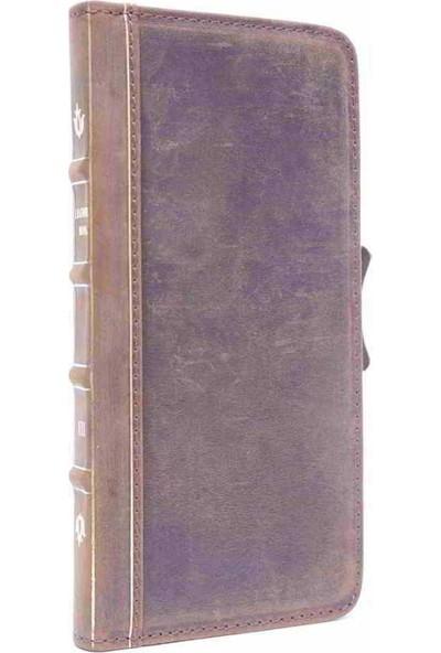 BookBook Apple iPhone 6/6S Cüzdanlı Kahverengi Eskitme Kılıf