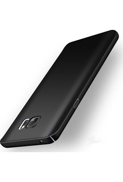 Microcase Samsung Galaxy Note 5 Sert Köşeli Rubber Kılıf + Tempered Cam
