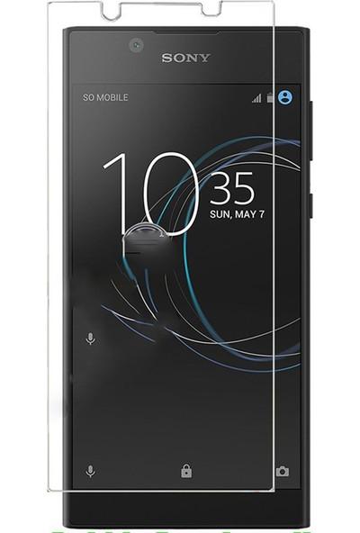 Microcase Sony Xperia L1 Tempered Glass Cam Ekran Koruma