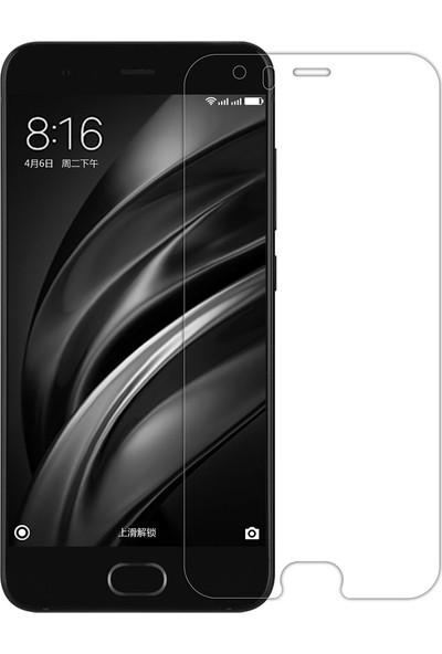 Microcase Xiaomi Mi6 Tempered Glass Cam Ekran Koruma