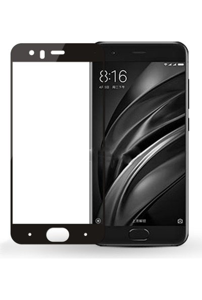 Microcase Xiaomi Mi6 Flexible Çerçeveli Esnek Tempered Cam Koruma