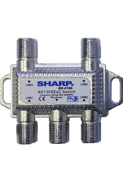 Sharp SH 41NL 4x1 Diseqc Switch