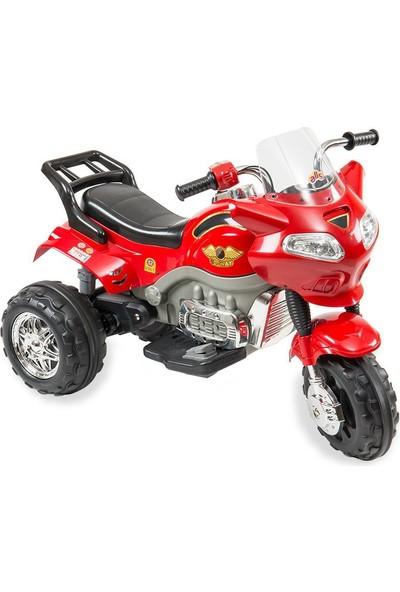 Aliş 404-Kırmızı Akülü Turbo Go-Way Motorsiklet