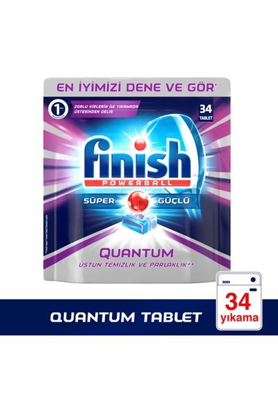 Finish Quantum 34 Tablet Bulaşık Makinesi Deterjanı