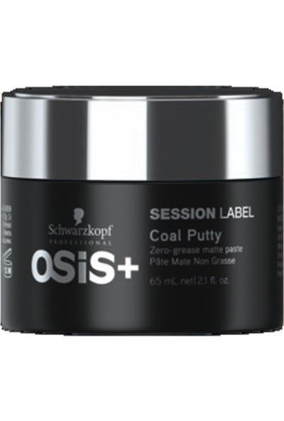 Osıs Session Label Coal Putty Ağırlaştırmayan Mat Wax 65Ml - Yeni Seri