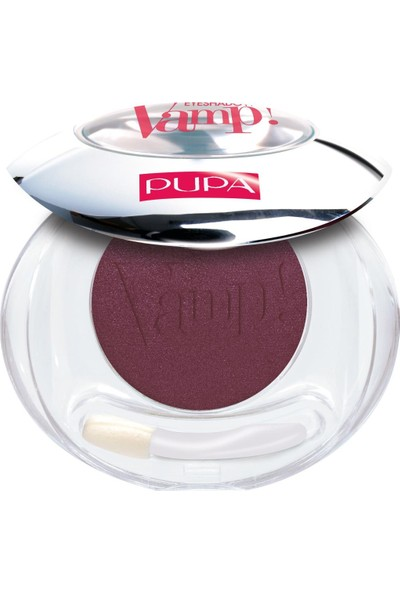 Pupa Vamp! Compact Eyeshadow Black Burgundy