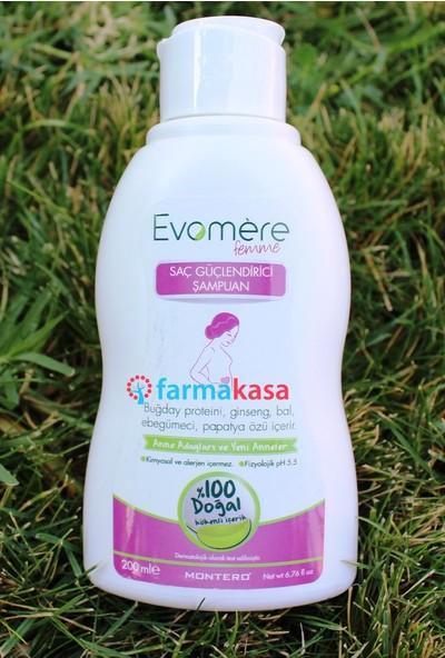 Evomere Femme Saç Güçlendirici Şampuan 200ml %100 Doğal