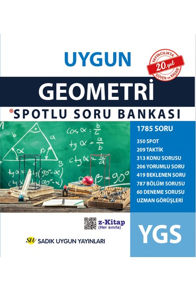 Uygun Ygs Geometri Spotlu Soru Bankası - Ali Şahin