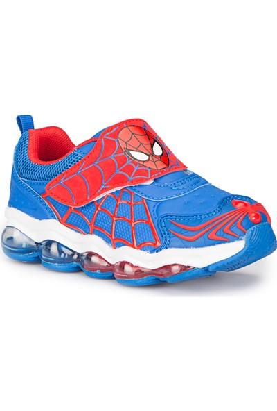 Spiderman Charm Mavi Erkek Çocuk Athletic Ayakkabı