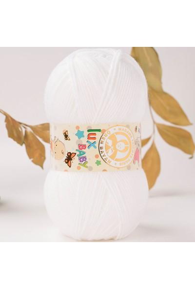 Ören Bayan Lux Baby El Örgü İpi, Bebek Yünü - 3010
