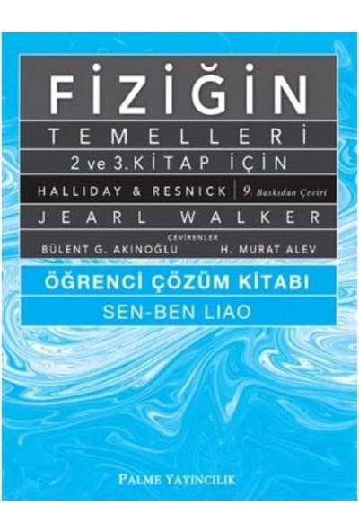 Fiziğin Temelleri 2. Ve 3. Kitap İçin Öğrenci Çözüm Kitabı