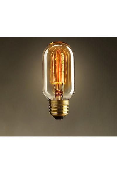 Ferled Edison Flemanlı Dekoratif Rustik Ampul T45 Model