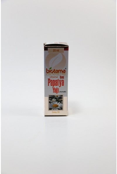 Biotama Rumi Papatya Yağı 20 ml