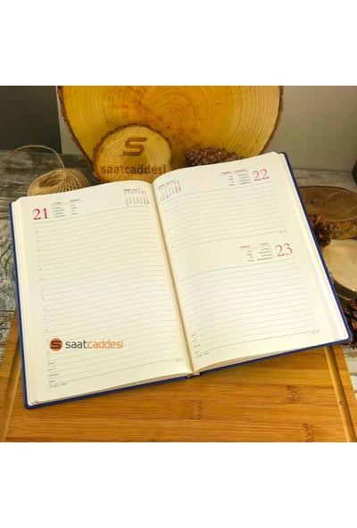 Pigoda İsme Özel 2017 Ajanda Mavi + İsme Özel Kalem