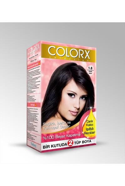 Colorx Siyah Saç Boyası 1.0