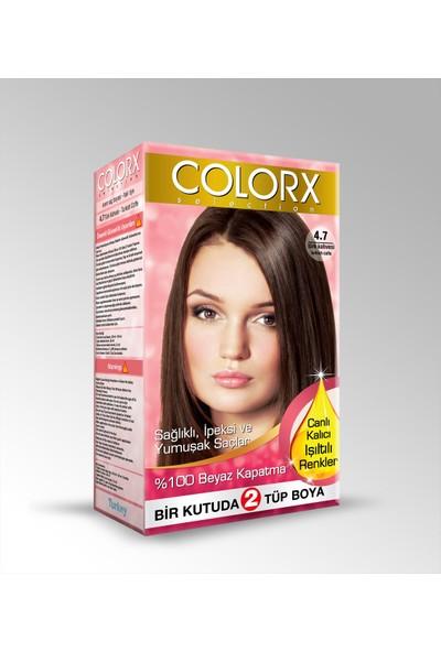 Colorx Saç Boyası 4.7