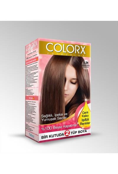 Colorx Saç Boyası 5.34