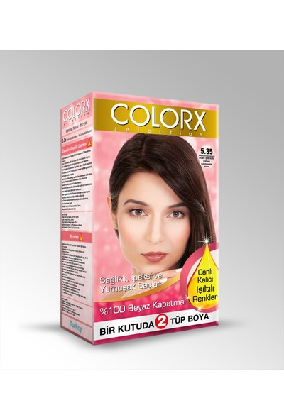 Colorx Saç Boyası 5.35