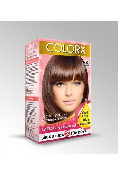 Colorx Saç Boyası 6.53
