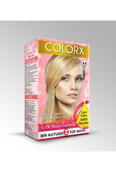 Colorx Saç Boyası Sarı