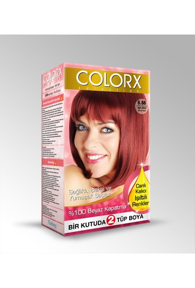 Colorx Saç Boyası Aşk Ateşi