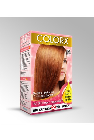 Colorx Saç Boyası Sultan Bakırı