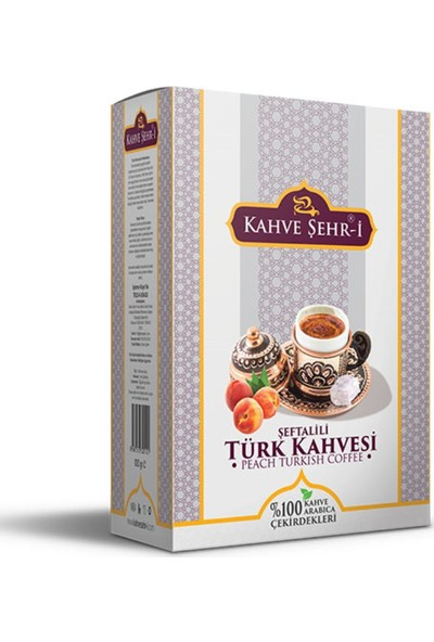 Kahve Şehr-İ Şeftalili Türk Kahvesi