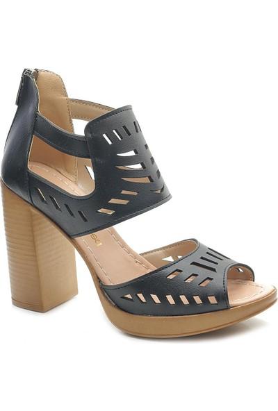 Modalisa 5212 Platform Topuk Kadın Sandalet