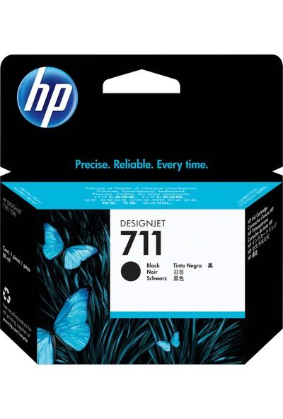 HP 711 Designjet T120 - T520 80 ml Siyah Kartuş CZ133A