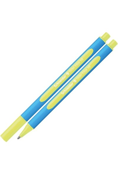 Schneider Slider Edge XB Sarı Tükenmez Kalem 152205