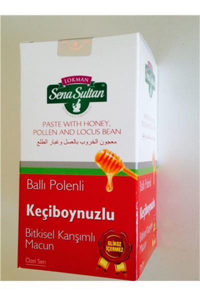 Lokman Sena Sultan Glikozsuz Ballı Polenli Keçiboynuzlu Macun (420 Gr.)