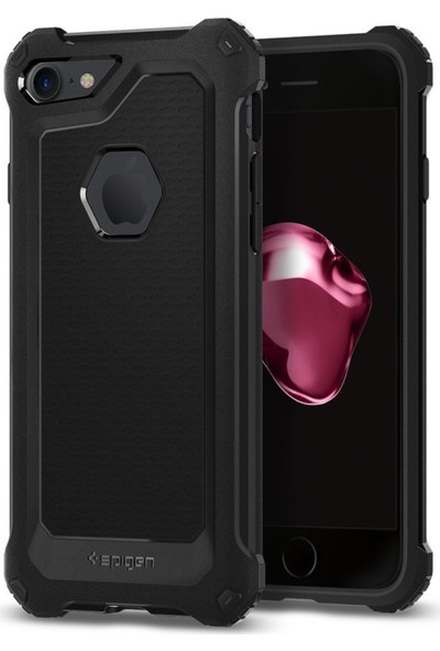 Spigen Apple iPhone 8 - iPhone 7 Kılıf Rugged Armor Extra - 042CS21491